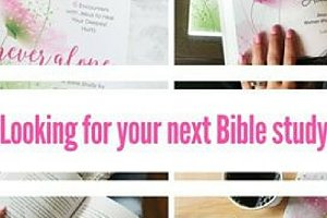 Never Alone Online Bible Study Hosted by Tiffany Bluhm