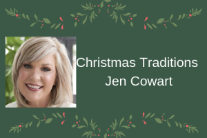 Jen Cowart shares her Christmas traditions.